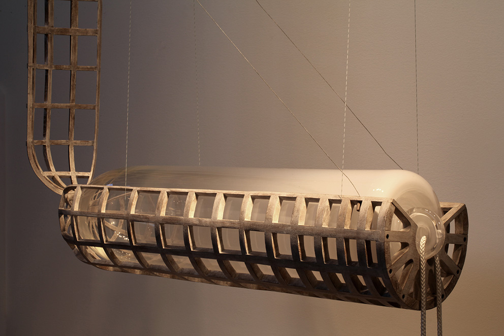 John Grade, sculpture Artic Floats