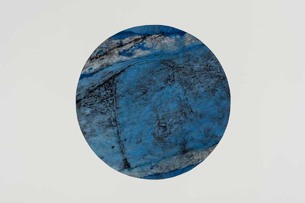 Catherine Farish, Utopia Series, mixed media and printmaking