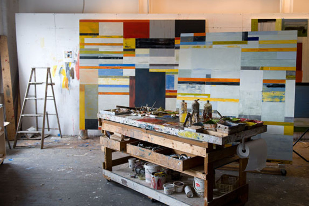 Lloyd Martin artist studio