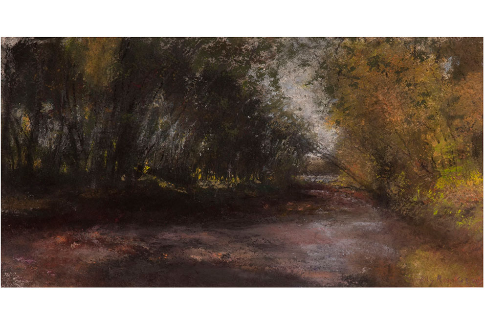 Ray Ruseckas Pastel Painting