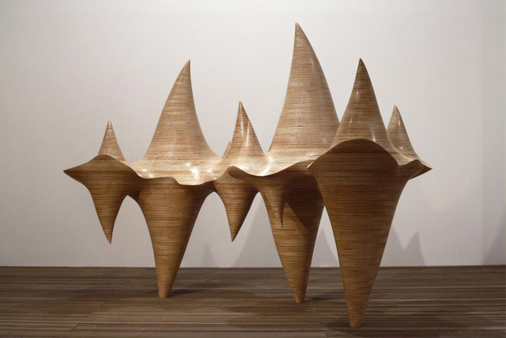 Cha Jong Rye wood sculpture