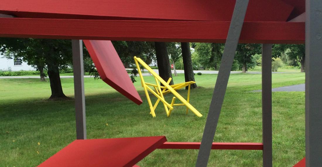 Willard Boepple sculpture in Walpole, NH
