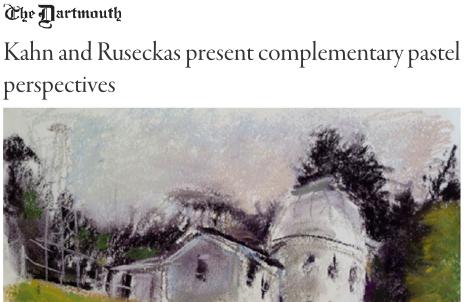 Ray Ruseackas The Dartmouth Article