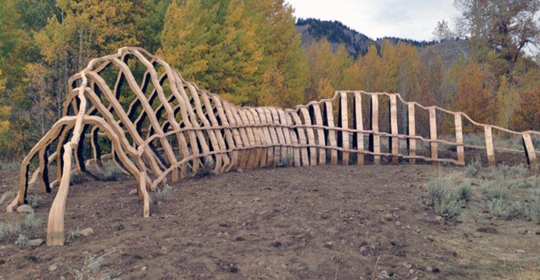 John Grade, Sculpture Spur in Sun Valley, Idaho