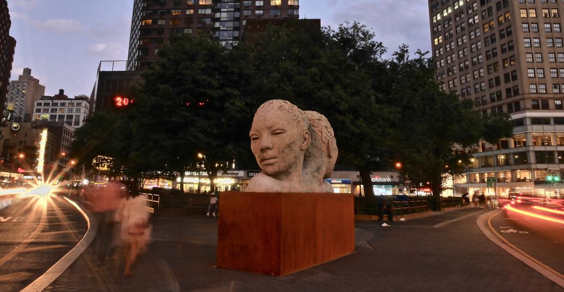 Lionel Smit, Morphous in Union Square. NYC