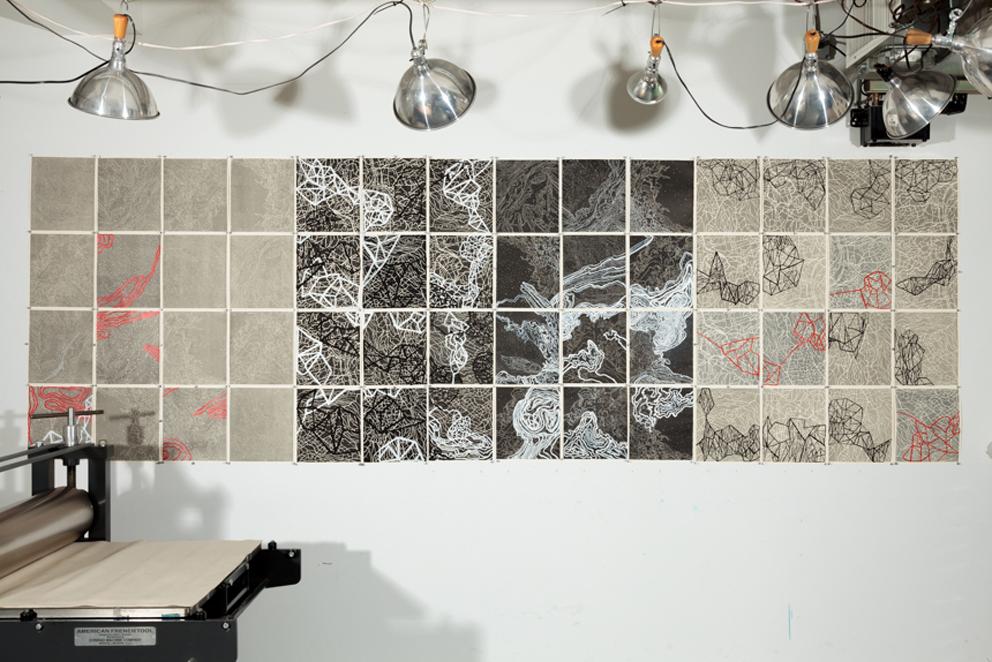 Beth Ganz, Atlas Project, work in progress