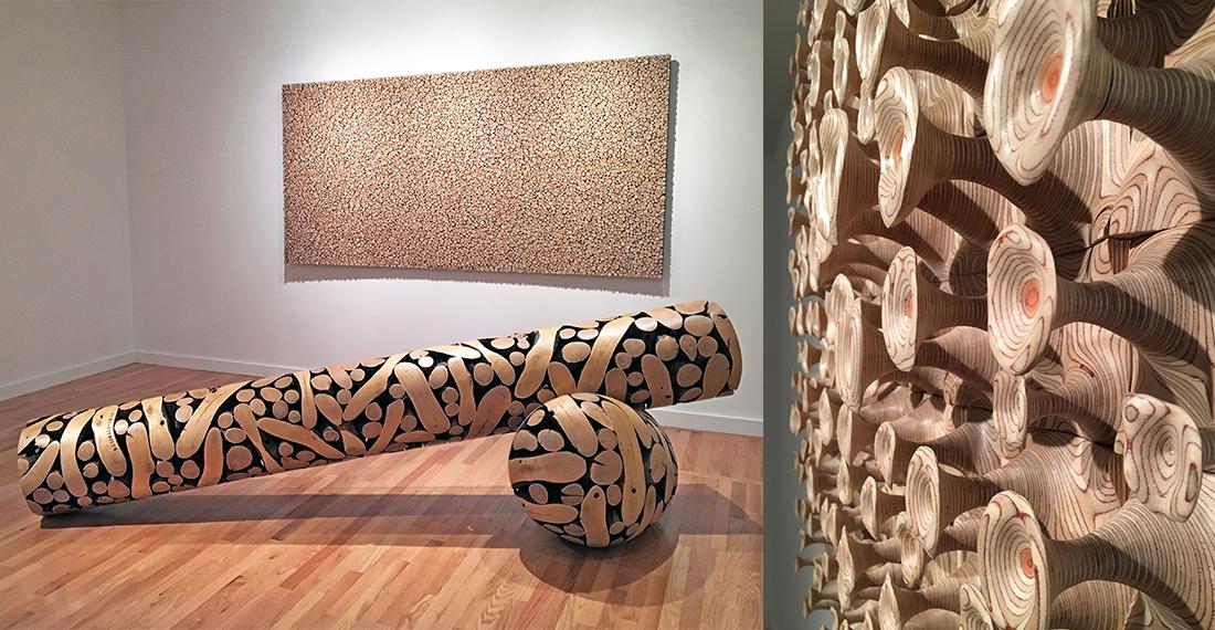 Cha Jong Rye and Jaehyo Lee Exhibition in Walpole, NH