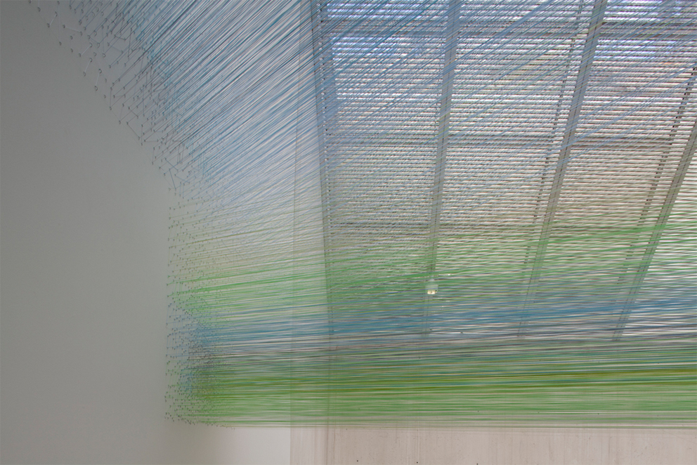 Anne Lindberg, installation